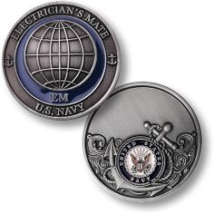 U s Navy Electrician's Mate USN Challenge Coin | eBay