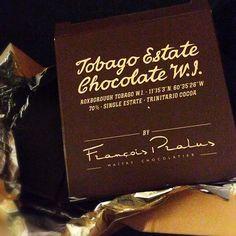 Single Estate #Tobago Estate #Chocolate W.I. YUM!