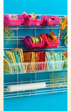 I am not sure if its the colors that attract me or the storage solutions :)