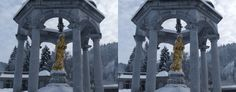 Winter can be fascinating at times :-). Side-by-side image created with 3DWiggle.
