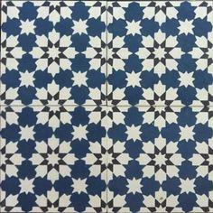 Moroccan & Encaustic Cement Tiles By Jatana Interiors Moroccan Print, Moroccan Design, Moroccan Tiles, Ceramic Floor Tiles, Cement Tiles, Classic Bathroom, Handmade Tiles, Style Tile, Painted Floors