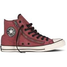 Converse Debuts a Fall Collection That's Ready to Rock ❤ liked on Polyvore featuring shoes and sneakers
