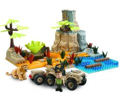 Animals in Action. Safari Set de Luxe. #Famoclick #Monsters #Zombies #toys #juguetes #ToyStore