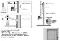 Plano de Portón Levadizo   Soloplanos.com Floor Plans, Home, Leo, Container, Carport Garage, Puertas, Ad Home, Homes, Lion