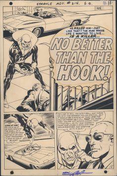 Neal Adams: Strange Adventures #214 page 9 from KochComicArt by Neal Adams