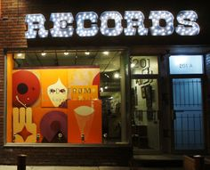 Read the sign! Records