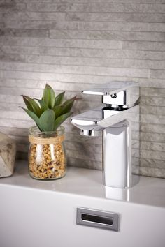 Bathroom Taps by Grohe – You'll find it @ www.plumbitonline.co.za Bathroom Taps, Basin Mixer, Sink, Vase, Modern, Home Decor, Trendy Tree, Room Decor, Sink Tops