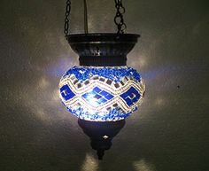 Blue moroccan lantern mosaic hanging lamp glass chandelier light turkish candle holder h 57 handmade_antiques http://www.amazon.com/dp/B01EEMW3G8/ref=cm_sw_r_pi_dp_Btafxb0TAJD6H