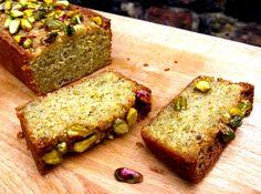 pistachio lemon loaf cake
