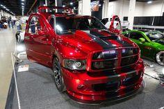 The Dodge Viper VX was unveiled at the 2012 New York Motor Show by the American car company Chrysler. Dodge Ram 1500 Hemi, Dodge Srt, Dodge Cummins, Dodge Viper, Dodge Challenger, Lowered Trucks, Ram Trucks, Dodge Trucks, Cool Trucks