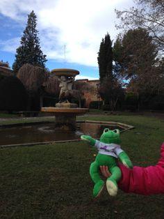 Ando en el Parque del Cid de León.
