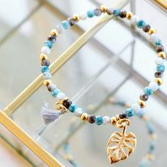 Summery jewellery set with DQ European metal beads and charms!
