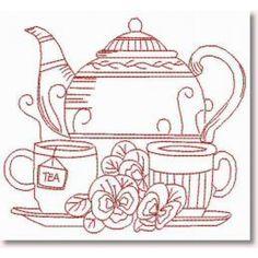 Tea with mum! :)
