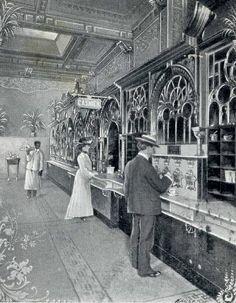 FAST FOOD: Largest Automatic Restaurant in the World, 818-820 Chestnut St., Philadelphia, Pennsylvania.