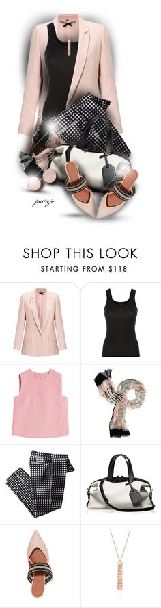 """She Wears the Pants"" by rockreborn ❤ liked on Polyvore featuring Jigsaw, La Perla, Valentino, Kate Spade, Reed Krakoff, Malone Souliers, Linda Farrow, polyvorecommunity and polyvoreeditorial"