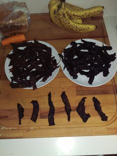 Jerky love with the front 6 pieces dusted in Moruga scorpion chilli powder for the lovers of heat.