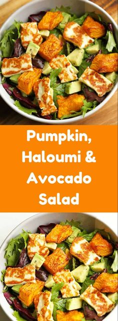 This pumpkin, haloumi & avocado salad is the perfect weekday dinner! Minimal E … – Informations About Dieser Kürbis, Haloumi & Avocado Salat ist das perfekte Abendessen unter der Wo… Pin You can easily use … Avocado Dessert, Avocado Salad Recipes, Vegetarian Salad Recipes, Salad Recipes For Dinner, Healthy Salads For Dinner, Vegetarian Christmas Recipes, Winter Salad Recipes, Clean Eating Vegetarian, Vegetable Salad Recipes