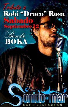 "Tributo a Robi ""Draco"" Rosa @ Sonido del Mar Bar & Restaurant #sondeaquipr #robidracorosa #sonidodelmarbarrest #isabela"