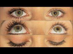➳Des Cils très Longs et Épais en 5 Minutes sans mascara ni faux cils ! - YouTube