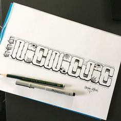 Chicano Lettering, Script Lettering, Lettering Styles, Tattoo Website, Letras Tattoo, Impalas, Wild Style, Faber Castell, Handwriting