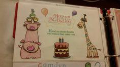 2 yr. old, kids, birthday card