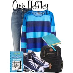 Inspired by Zachary Gordon as Grey Heffley in Diary of a Wimpy Kid.