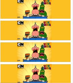 Daisy Celebrates!: Uncle Grandpa Birthday Party Printable Files