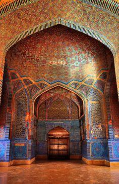 Shah Jahan Mosque, Thatta, Sindh province, Pakistan