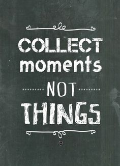 Oi! Xica | posters design - collect moments, not things