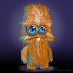 CRITTERS, Cute , Funny & Scary... by Nacho Riesco Gostanza, via Behance