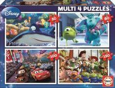 Multi 4 in 1 Disney-Pixar (50+80+100+180 parça) Educa Çocuk 24,90 TL