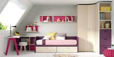 Dormitorio juvenil (1066 – J19) - Muebles CASANOVA