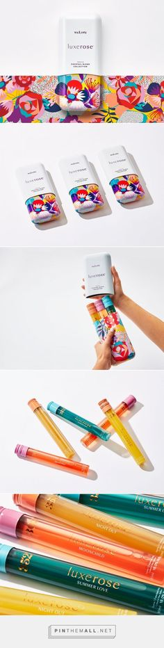 Luxerose Premium Cocktail Collection on Packaging of the World - Creative Package Design Gallery. - a grouped images picture - Pin Them All Game Design, Food Design, Web Design, Design Ideas, Bottle Packaging, Pretty Packaging, Brand Packaging, Product Packaging, Packaging Design Inspiration