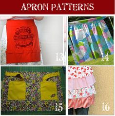 half-apron patterns