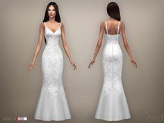 Lana CC Finds - Wedding dress 07 (S4) by BEO