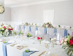 A Preppy Navy & Pink Spring Luncheon - Inspired by This