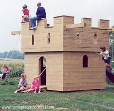 Castle Playhouse ----perhaps a bit smaller