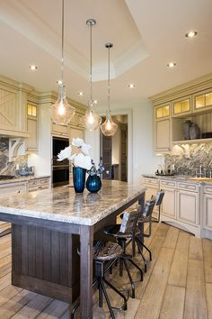 French Country Over Island Lighting Google Search - French country kitchen pendant lighting