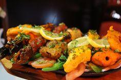 """Grillades poulet agneau crevette """"New Dehli"""" (75010) Indien"""