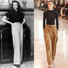 7 Old Hollywood Stars Who Inspired Fall 2014 Fashion Trends   StyleCaster
