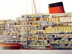SS Normandie was an ocean liner built in Saint-Nazaire, France, for the French Line Compagnie Générale Transatlantique. She entered ...