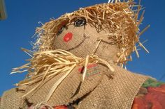 Make Your Own Scarecrow #Kids #Events
