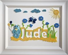 Quilling Baby Boy Name