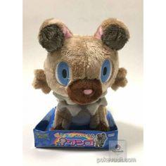 Pokemon 2016 Rockruff Takara Tomy Medium Size Plush Toy