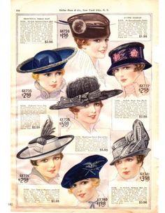 Hats - I wish pretty hats like these were still as big a part of ... b6ed04a25ec
