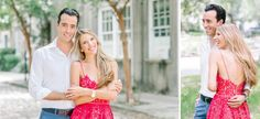 NAHILA + BERNARD'S DOWNTOWN CHARLESTON ENGAGEMENT » Aaron and Jillian Photography