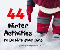 Winter activities to make the best from a cold january. Crafts and activities for kids Activities For 2 Year Olds, Winter Activities, Infant Activities, Learning Activities, January Crafts, New Toys, Healthy Kids, First Grade, Have Fun