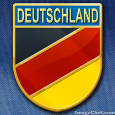Support your favorite World Cup contender on the road to victory with these badges from ImageChef: http://www.imagechef.com/t/459o/Germany-Pin #ImageChef #WorldCup