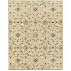 Home Decorators Collection Isabella Light Gray 9 ft. 6 in. x 12 ft. 2 in. Area…