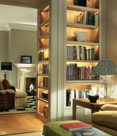 Trendy Home Library Lighting
